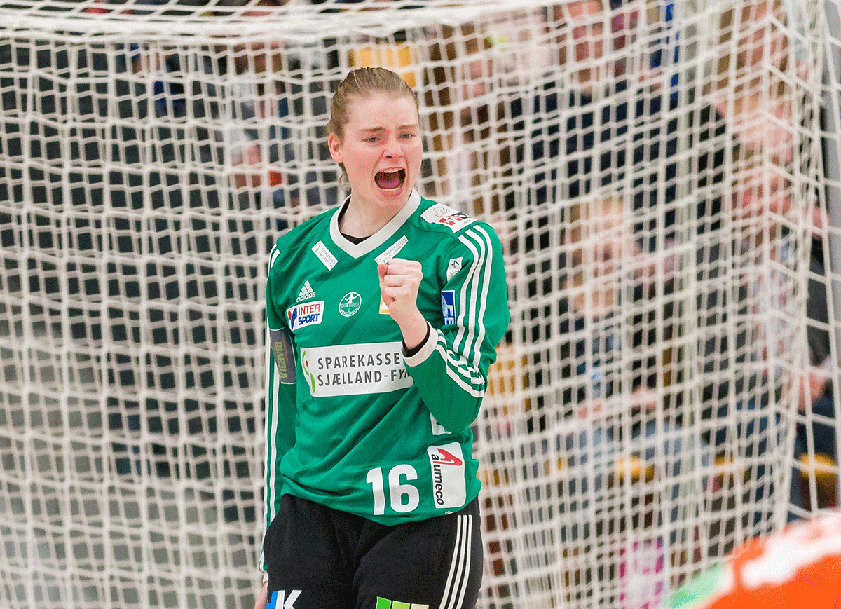 Althea Reinhardt nomineret til World Female Young Handball Player 2016/2017